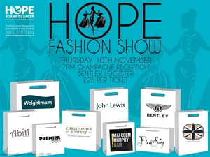 Get Your Tickets For The Hope Charity Fashion Show Today